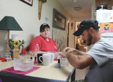 client services full spectrum farms volunteers arts crafts